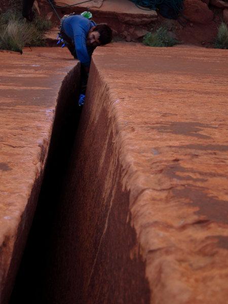 Rock Climbing Photo: Nathan on Low Cholesterol. 4/2012.  Photo: Corey G...