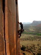 Rock Climbing Photo: Tight hands on Wounded Knee. 4/2012.  Photo: Domin...