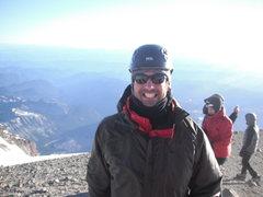 Rock Climbing Photo: Summit of Rainier.