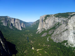 Rock Climbing Photo: El Cap from the Sentinel