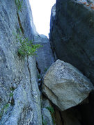 Rock Climbing Photo: the rap that leads to P7
