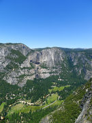 Rock Climbing Photo: Yosemite Falls from the Sentinel