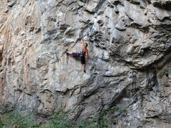 Rock Climbing Photo: Rest after low crux.