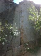 Rock Climbing Photo: Hillside strangler