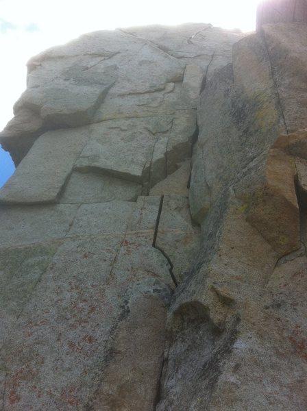 Rock Climbing Photo: left branch