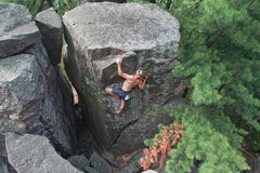 Rock Climbing Photo: Stew on BCFR