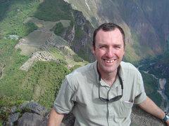 Paul Cripps in Peru.