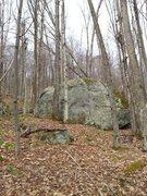 Rock Climbing Photo: Streamside Boulder