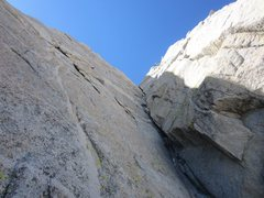 Rock Climbing Photo: Looking at the second dihedral
