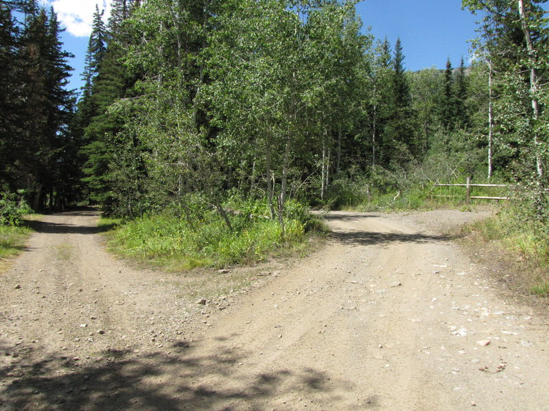 Rock Climbing Photo: you can park here and hike the right 111 road or d...