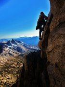 Rock Climbing Photo: Beautiful alpine setting