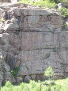 Rock Climbing Photo: this is the Three aces wall. hard rock minor is th...