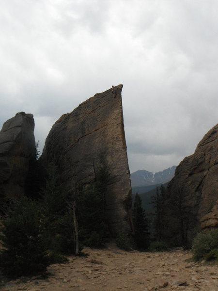 Rock Climbing Photo: Little bit of exposure.