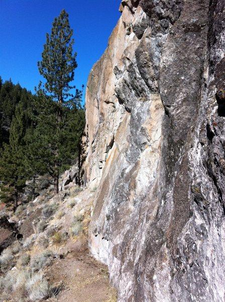 Rock Climbing Photo: true value crag