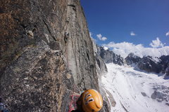 Rock Climbing Photo: pitch 8