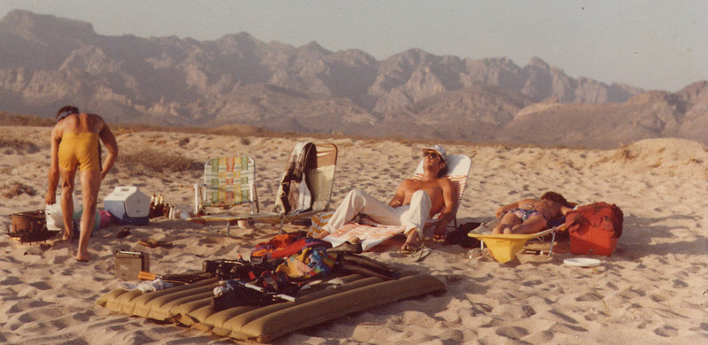 beach bummin'<br> Photo: Jill Phillips