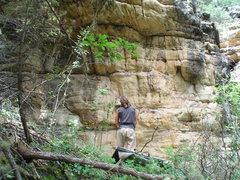 Rock Climbing Photo: Dean's Dangle.