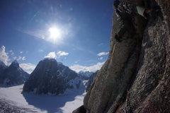 Rock Climbing Photo: Some of the weird 5.moderate weird mountain stuff ...