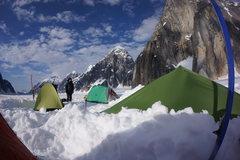 Rock Climbing Photo: Base camp for Team Lucky Mushroom.