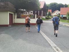 Rock Climbing Photo: Walk through the town of Leienfels