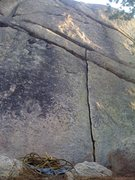 Rock Climbing Photo: Three Fishes
