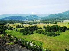 Rock Climbing Photo: There are some great views from the top of Big Roc...