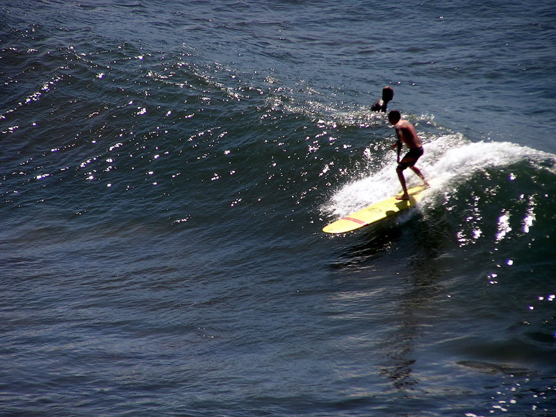 Rock Climbing Photo: summer surf maui Photo: Olaf Mitchell