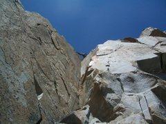Rock Climbing Photo: Jake P. on the money pitch