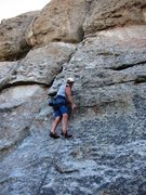 Rock Climbing Photo: Skully headin' north on Muffin Top