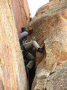 Rock Climbing Photo: cont...