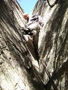 Rock Climbing Photo: Giving it a go