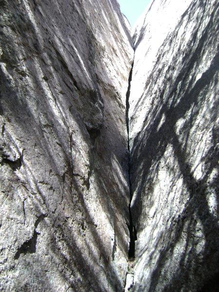 Rock Climbing Photo: Tight