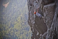 Rock Climbing Photo: This thing has a cool crux!