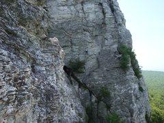 Rock Climbing Photo: A long way to go on Zoo View