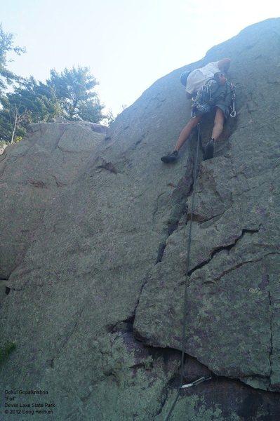 Rock Climbing Photo: Gokul G