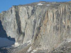 Rock Climbing Photo: leg lake