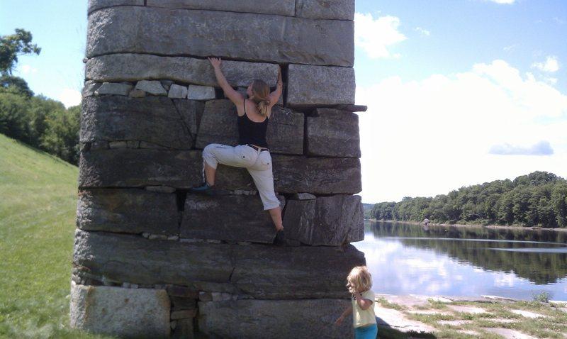 Rock Climbing Photo: easy money