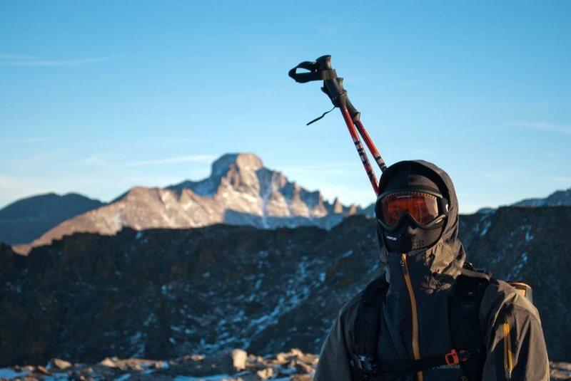 Longs Peak looming