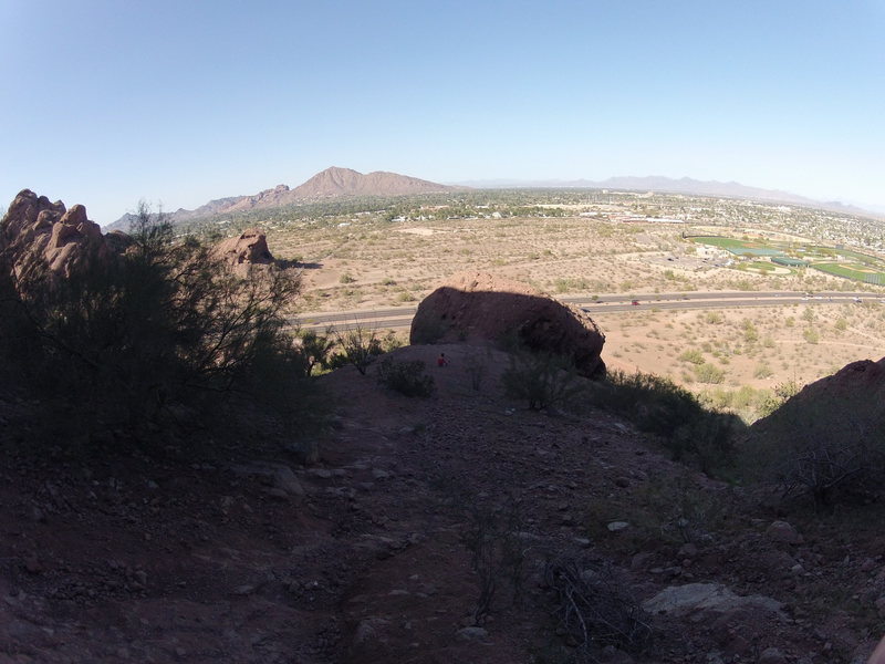 There is a surprising amount of bouldering around Phoenix if you just look.