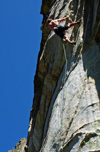 Rock Climbing Photo: Erik Scheuring on 'R.I.P.'