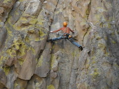 Rock Climbing Photo: Dow Williams leading Yellow Wall