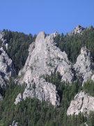 Rock Climbing Photo: Evolution Fin, Frog Rock