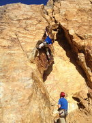 Rock Climbing Photo: Crux Pinch