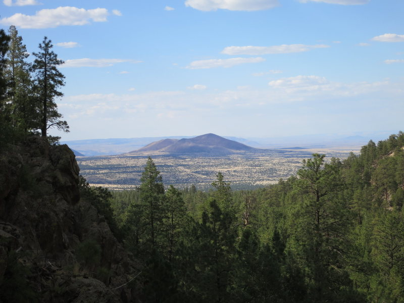 Rock Climbing Photo: This is the view to the North from the top of the ...