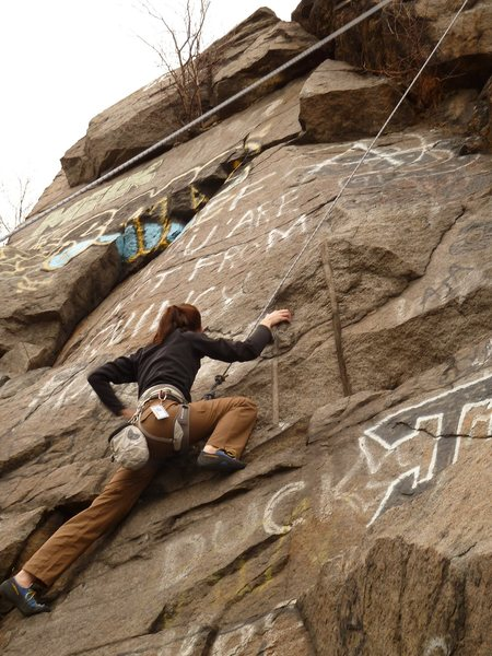 Rock Climbing Photo: Quincy Quarries, 2011