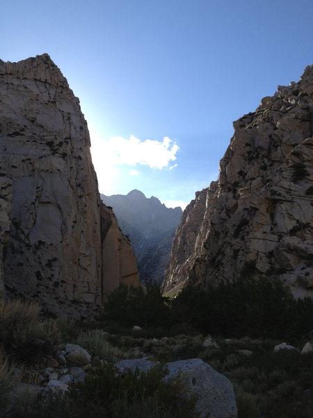 Rock Climbing Photo: Pine Creek