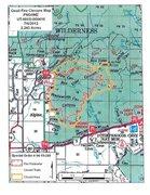 Rock Climbing Photo: Quail Fire closure map 070612