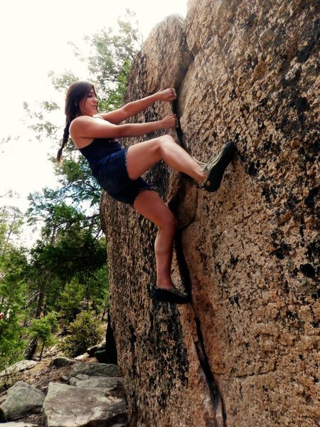 Rock Climbing Photo: Intiendes Mendez!