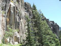 Rock Climbing Photo: Upper tier.