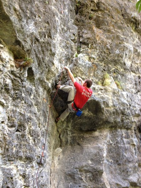 Rock Climbing Photo: One of the better 10's